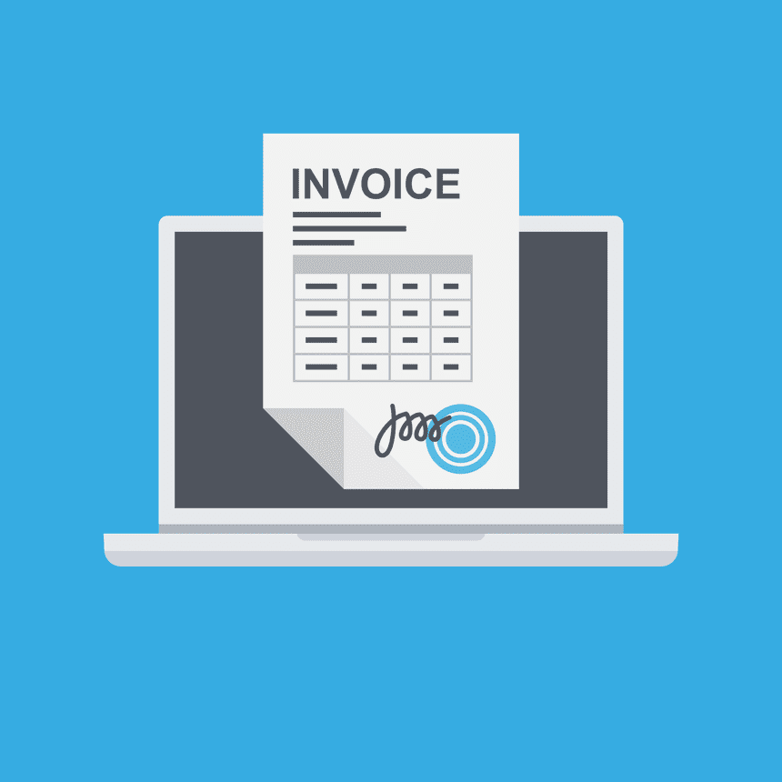 Create an invoice without errors